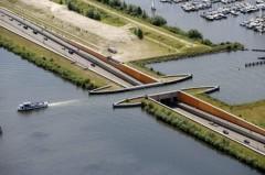 عکس/ پُلی بینظیر در هلند