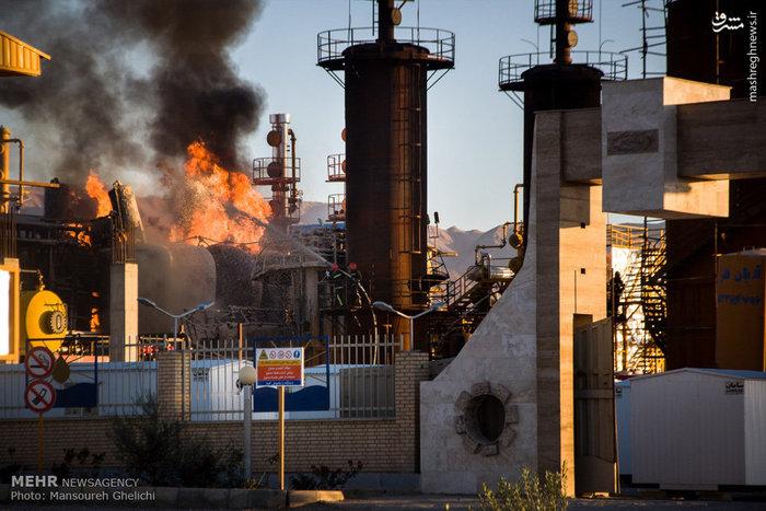 آخرین جزئیات از آتشسوزی پالایشگاه شاهرود +عکس