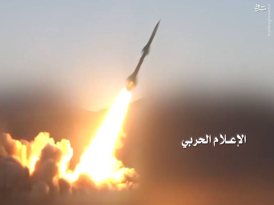 شلیک موشک قاهر 1 به پایگاه هوایی ارتش سعودی+عکس