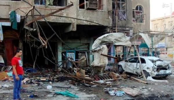 انفجار تروریستی در حسینیه بغداد
