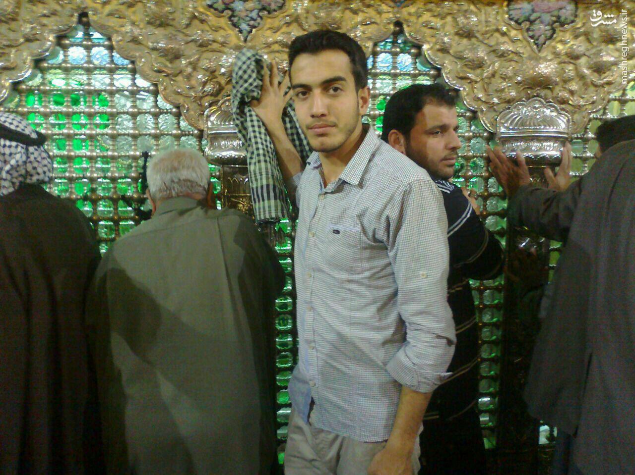 پیکر عاشق عباس (ع) بدون دست و چشم از کربلای سوریه بازگشت +تصاویر