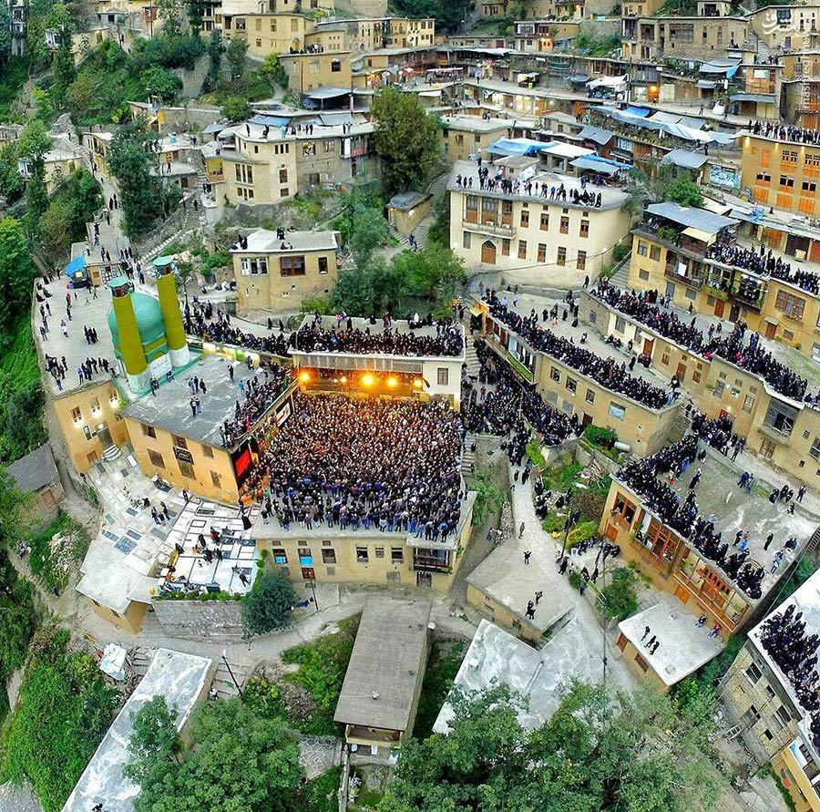 مراسم عزاداری علم بندان، ماسوله، گیلان