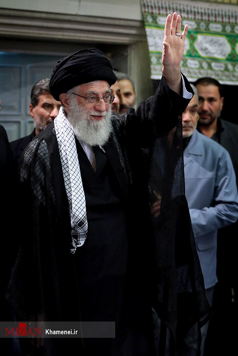 عکس/مراسم عزاداری شام غریبان در حسینیه امام خمینی
