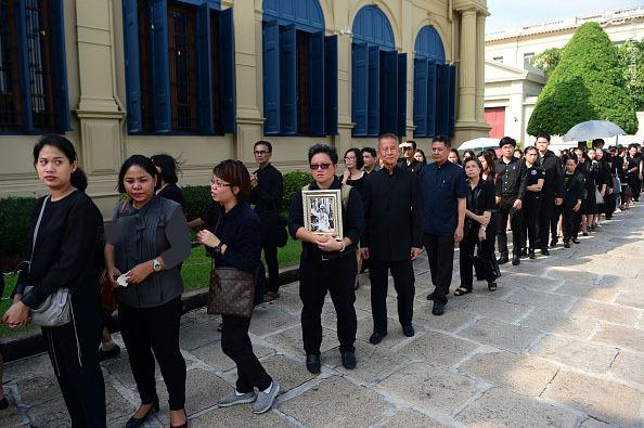 تصاویر جالب از تایلند پس از مرگ پادشاه این کشور