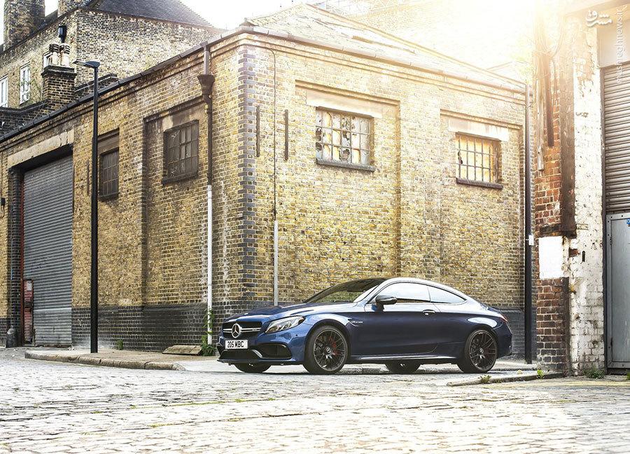 «C63 AMG Coupe»شاهکار جدید کمپانی مرسدس+تصاویر