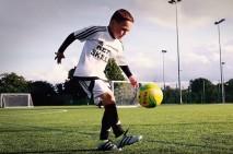 فیلم دیدنی از مهارت حیرت آور فوتبالیست هشت ساله