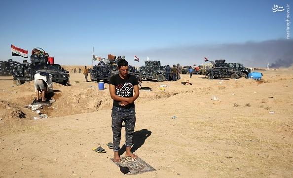 عکس/ رزمنده سنی عراقی با