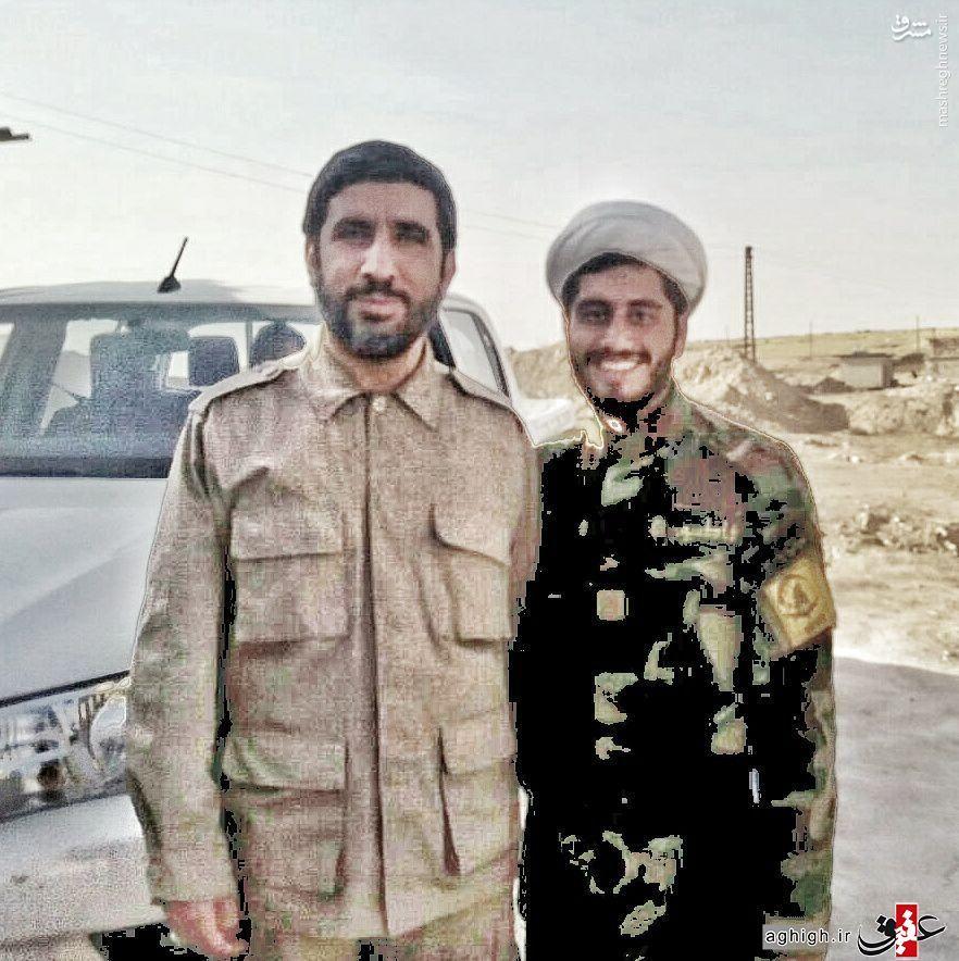 خاطره مداح معروف از حضورش در سوریه +عکس