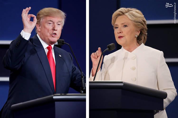 ترامپ: آزادسازی موصل به نفع ایران است/ کلینتون: آزادسازی رقه به نفع حامیان اسد است/ ترامپ: در صورت شکست، به هیچوجه نتیجه انتخابات را قبول ندارم چون تقلب شده است
