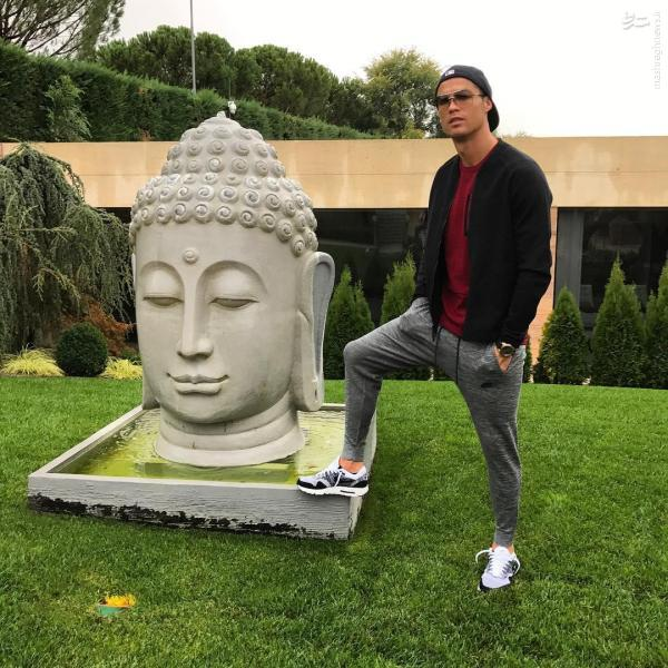 ژشت کریستین رونالدو باعث خشم بودایی ها شد