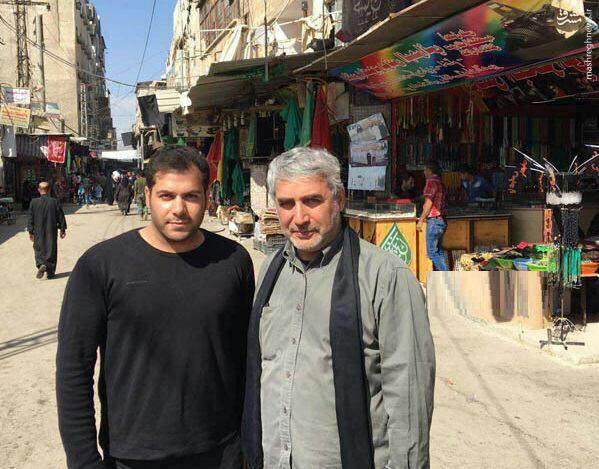 عکس/ جدیدترین تصویر از حاتمیکیا در سوریه