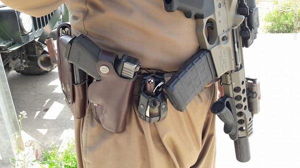 عکس/ رویت اسلحه پیشرفته کانادایی در عراق