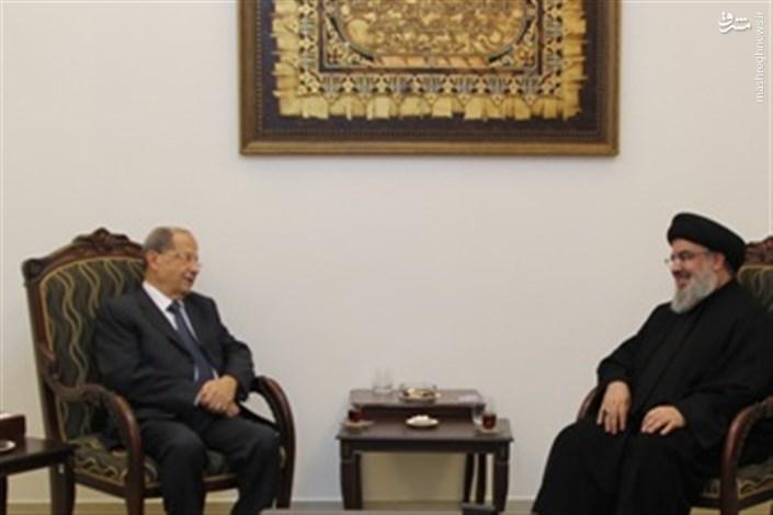 کاندید حزب الله رئیس جمهور لبنان شد/میشل عون اولین رئیس جمهور اهل ضاحیه جنوبی بیروت!/