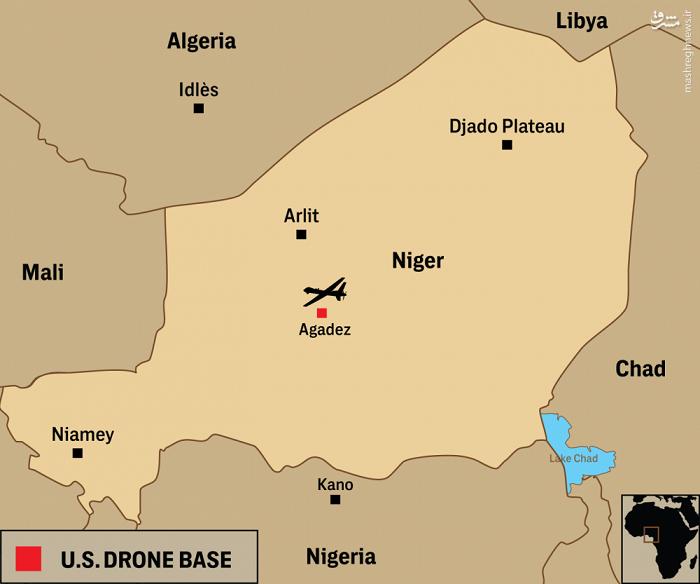 آمریکا در حال ساخت پایگاه پهپادی 100 میلیون دلاری در غرب آفریقا