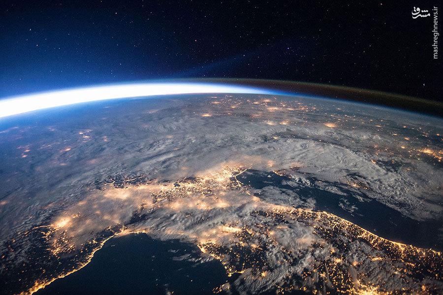 عکسی دیدنی از کره زمین