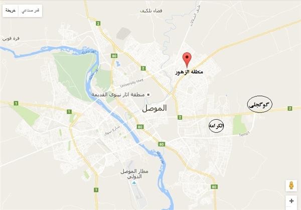 ورود نیروهای عراقی به منطقه «الزهور» در موصل