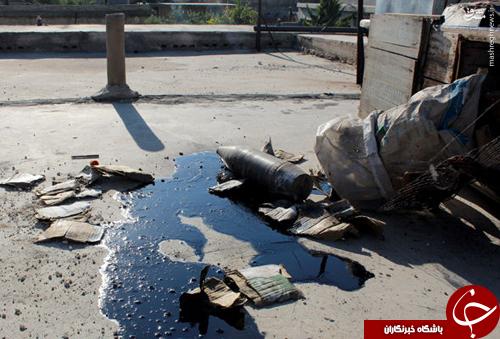 ماجرای ابرهای سمّی و آلوده در آسمان عراق/ داعش بمبهای شیمیایی را از کجا تهیه میکند +فیلم و عکس