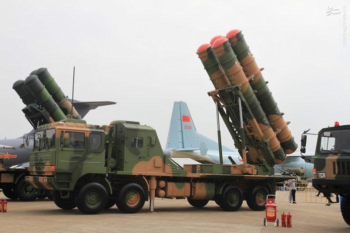 عکس/ موشک ضد هوایی جدید چین