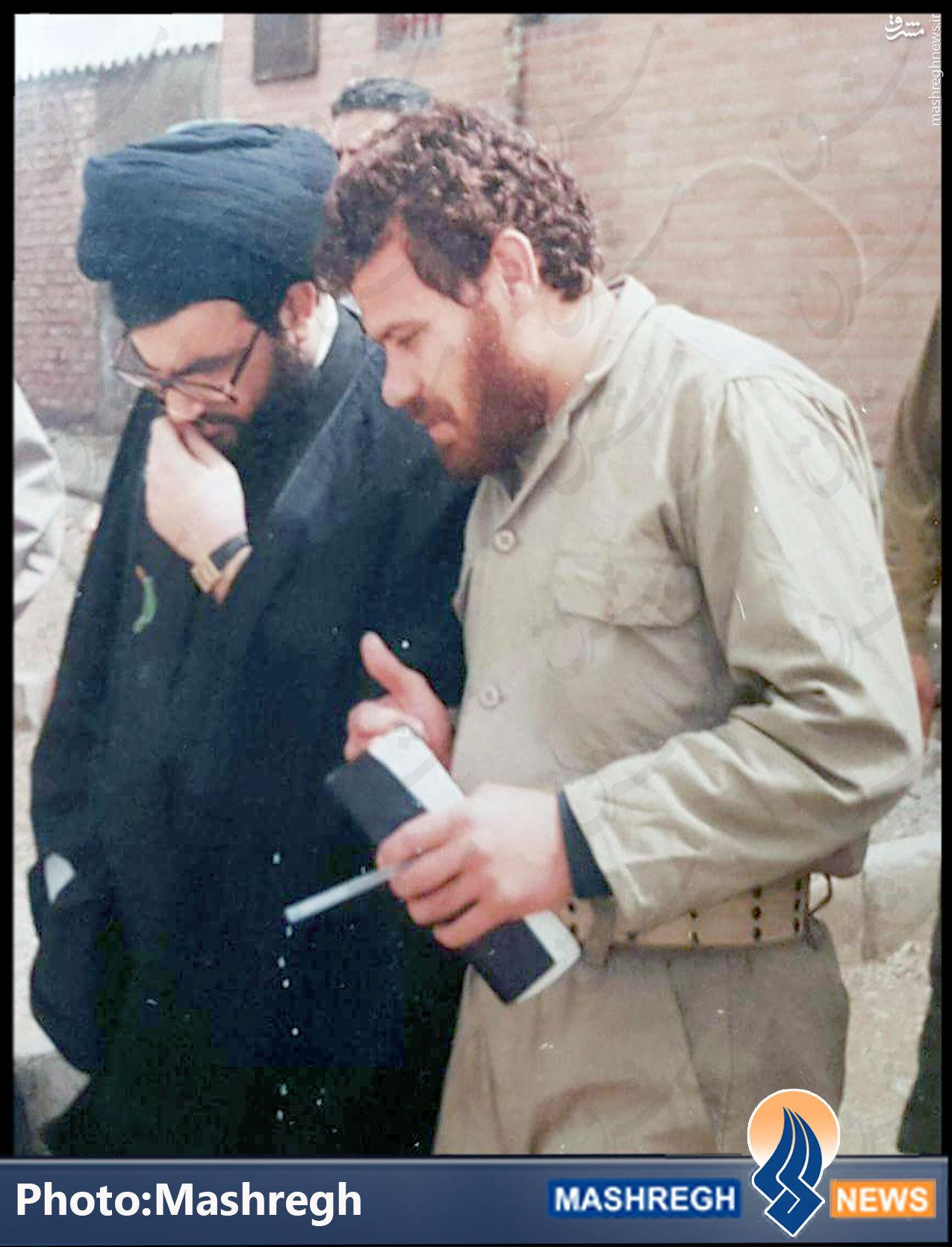 عکس کمتردیده شده از فرماندهان تاریخی حزب الله