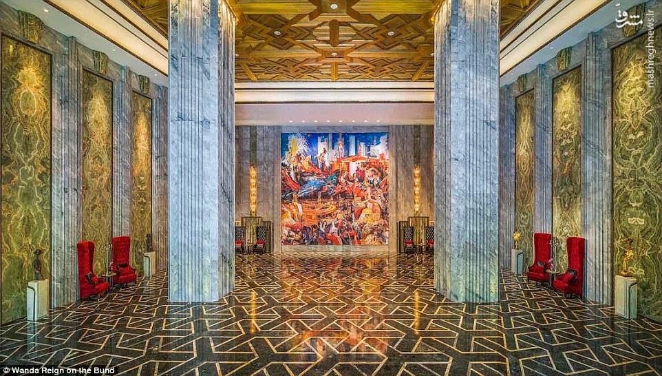 اولین هتل هفت ستاره چین در شهر شانگهای