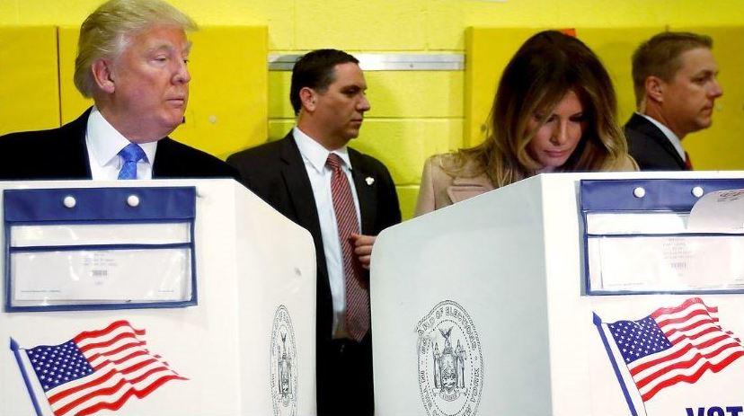 ترامپ:ممکن است انتخابات امشب به پایان نرسد/ هیلاری چهار امتیاز پیش است/ حمایت رسمی جمهوری خواه مشهور از ترامپ در آخرین لحظات