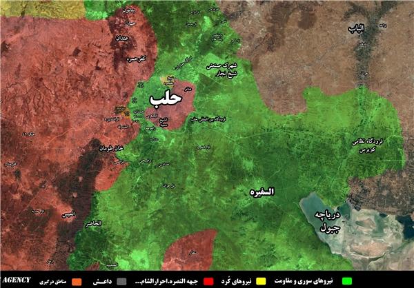 ارتش سوریه «مدرسه الحکمه» در حلب را آزاد کرد