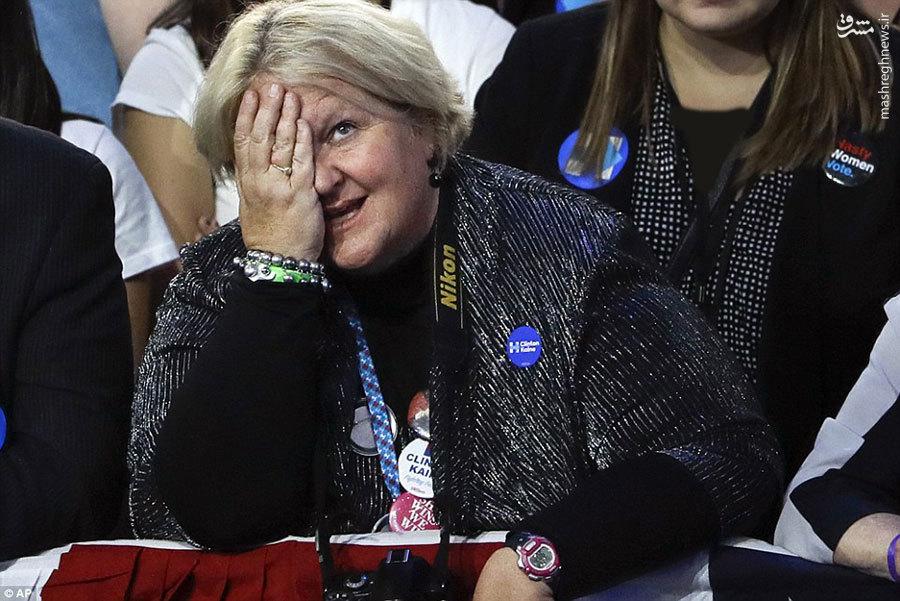 اشک حسرت و بهت طرفداران کلینتون بعد از نتایج انتخابات