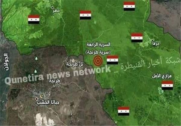 ورود تروریستهای تازهنفس از اردن به قنیطره