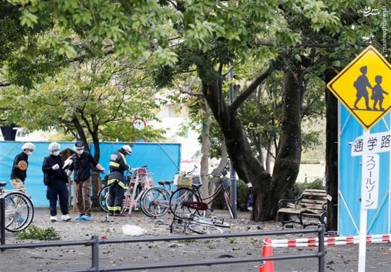 جزئیات جدید از انفجار امروز در ژاپن +عکس