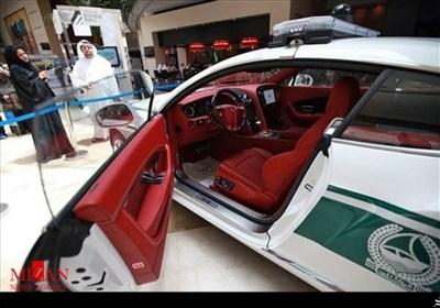 لوکس ترین خودروهای پلیس در جهان +تصاویر