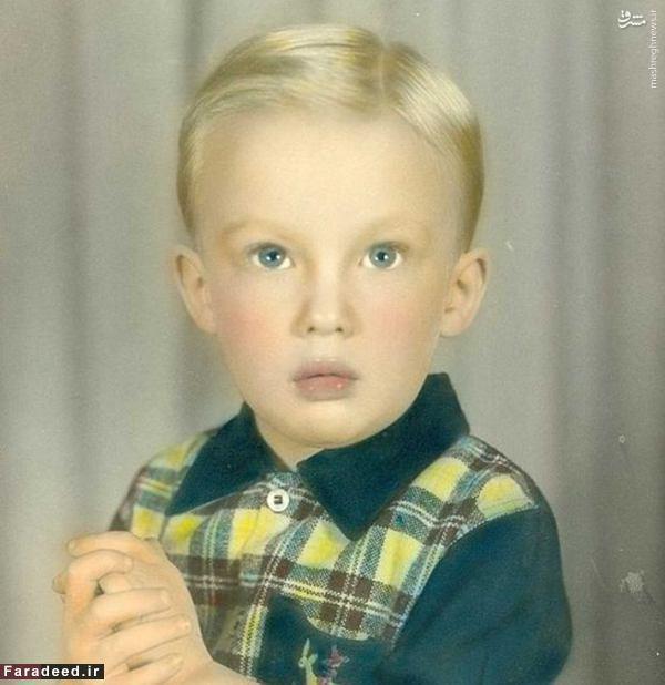 عکس/ ترامپ وقتی کودک بود!