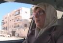 مقاومت زن سوری با پراید در حلب +تصاویر و فیلم