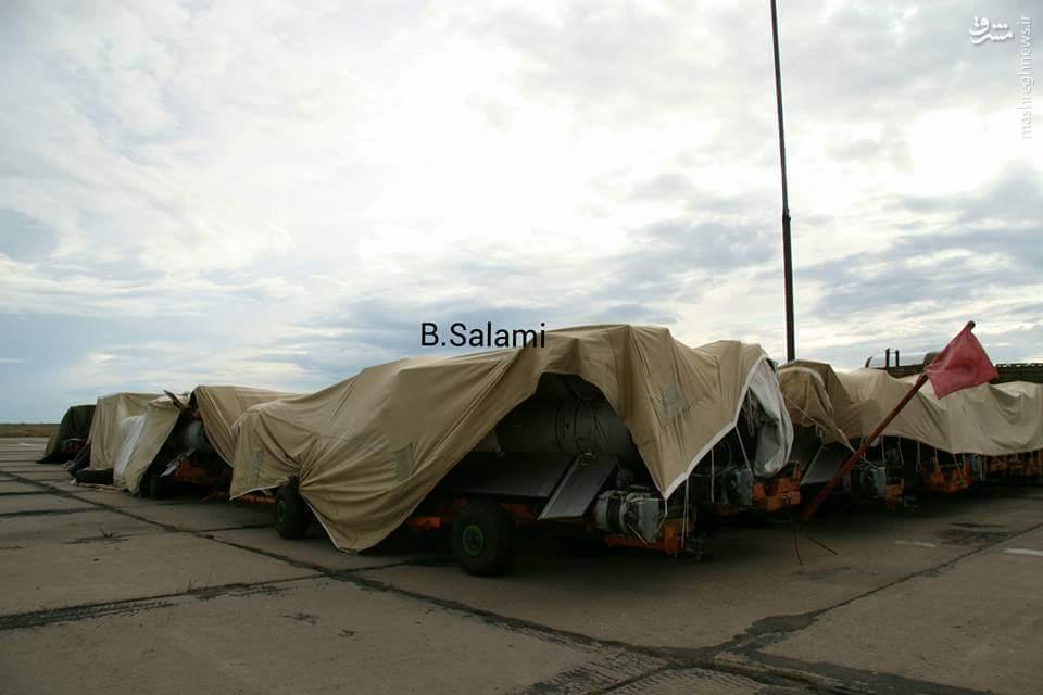 عکس/ ورود جنگده میگ 31 به سوریه
