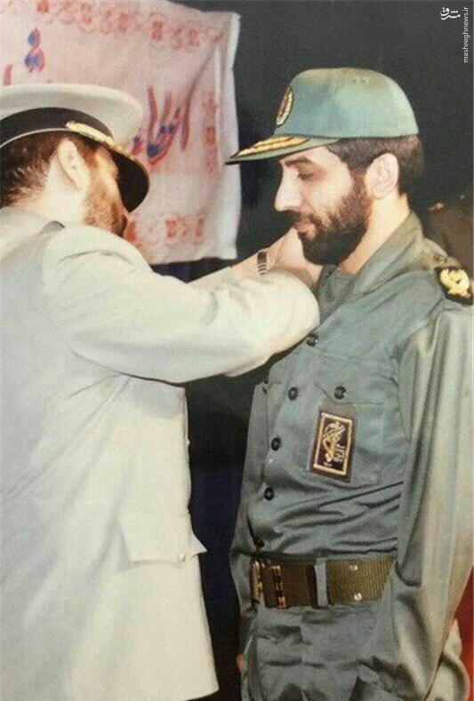 عکس/ ضرغامی در لباس سپاه پاسداران