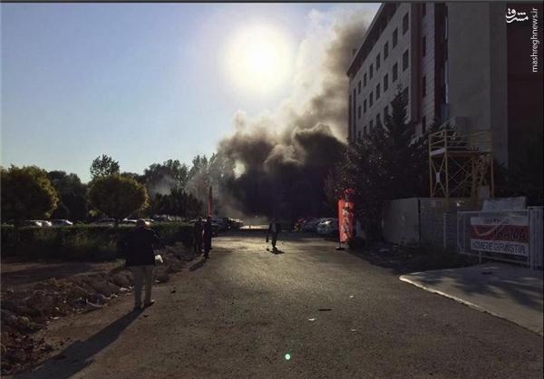 وقوع انفجار در «آنتالیا»