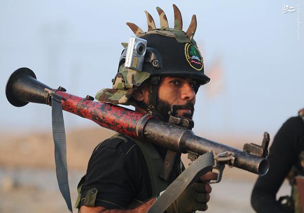 عکس/ تیپ جالب سرباز عراقی