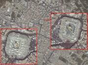 تصاویر ماهوارهای جدید از پیاده روی اربعین 95