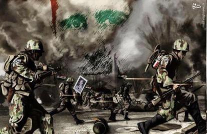 «سپاه پنجم تهاجمی» وارد نبرد سوریه شد/ حضور فرماندهان «حلقه جواهرنشان» حزبالله در سپاه جدید/