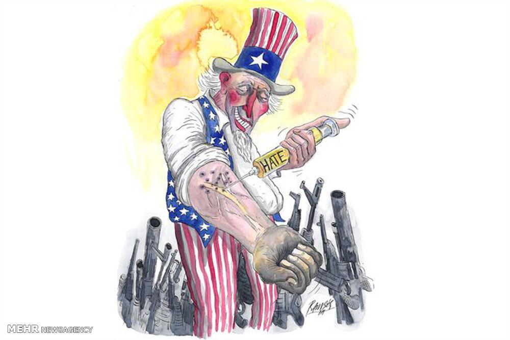 کاریکاتور/ نفرتپراکنی روی کره زمین