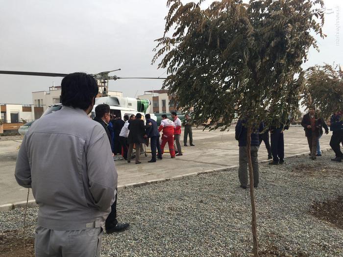 دانلود کلیپ سقوط هلیکوپتر در دریاچه چیتگر سه شنبه 16 آذر
