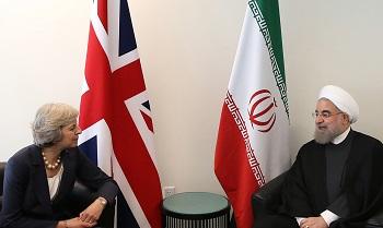 تهدید و توهین ایران توسط خانم انگلیسی؛ سکوت مردانه دولت روحانی
