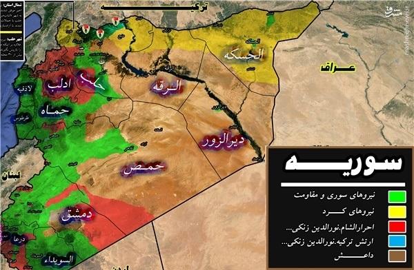 جدیدترین نقشههای میدانی سوریه/ چرا عملیات حلب متوقف شد/ تدمر سقوط نکرد/ آیا اردوغان حلب را با روس ها معامله کرده است + عکس، فیلم، نقشه /اماده انتشار / فوری/ اقای غلامی