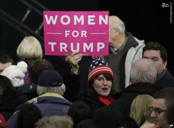 عکس/ «زنان برای ترامپ»
