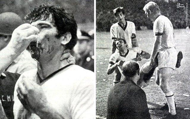 خشنترین بازی تاریخ جهان فوتبال +عکس