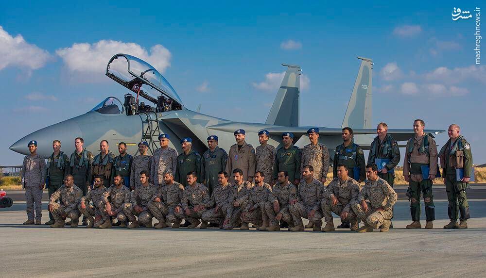 عکس/ تحویل جنگنده های جدید به عربستان