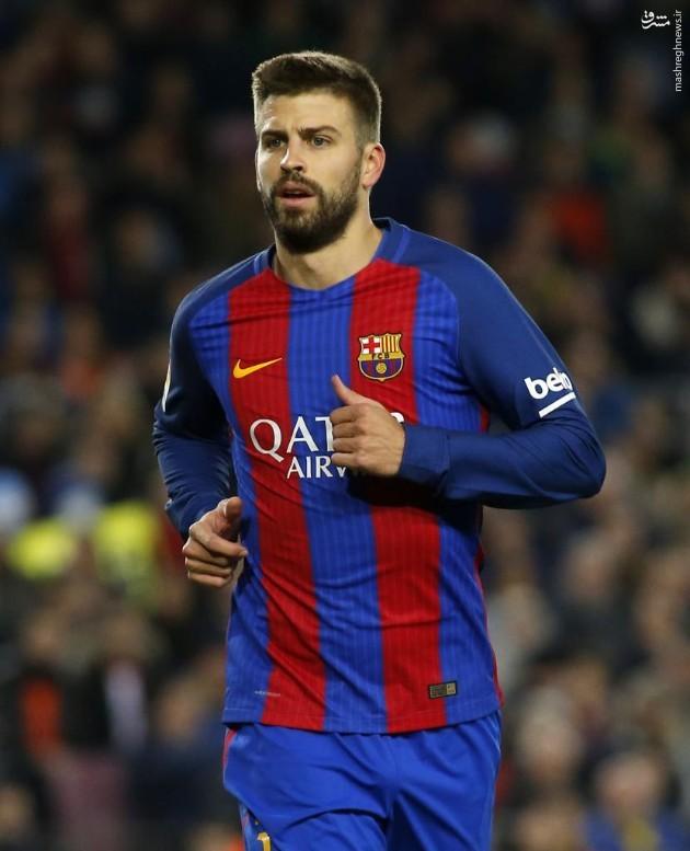 عکس/ حذف نشان فیفا از پیراهن بارسلونا