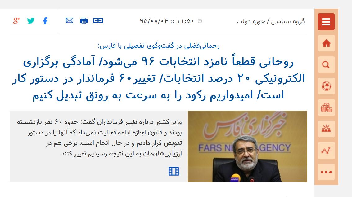 آقای روحانی! دخالت دولت در انتخابات هم حقوق شهروندی است؟///