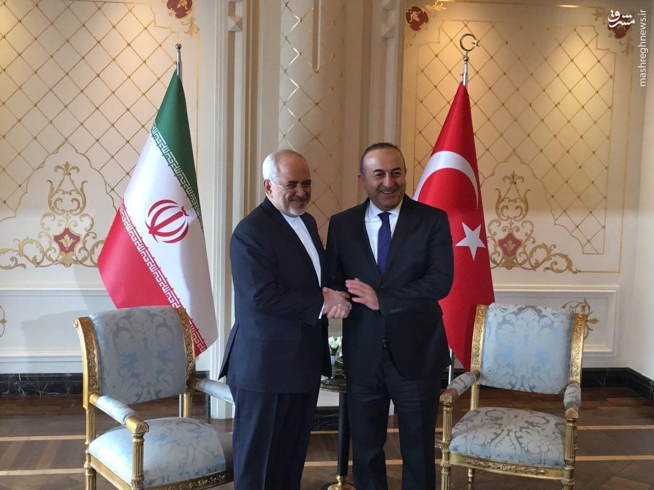 چه اتفاقاتی وزیرخارجه ترکیه را به تهران کشاند