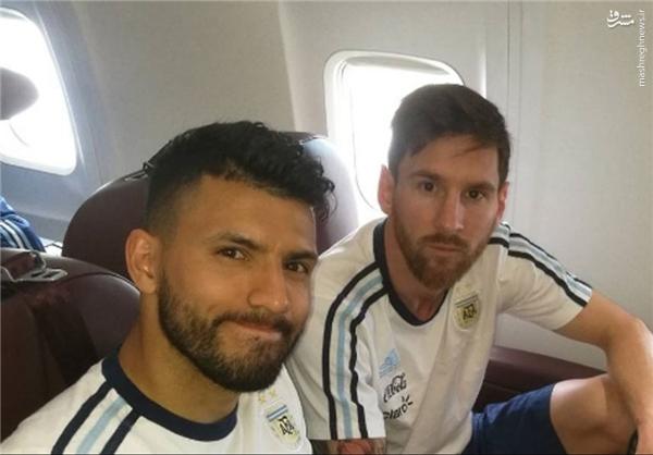آرژانتینی ها هم میهمان هواپیمای سقوط کرده بودند +عکس