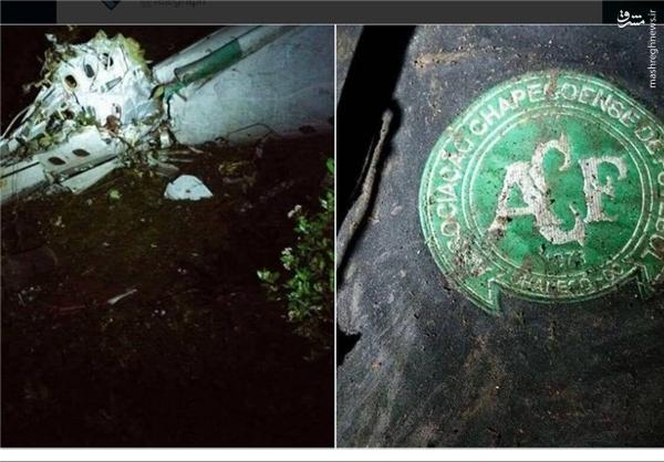 دو نجاتیافته حادثه هوایی کلمبیا +عکس